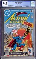 Action Comics #487 CGC 9.6 w