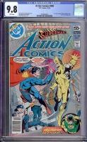 Action Comics #488 CGC 9.8 w