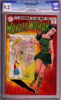 Wonder Woman #179 CGC 9.2 ow/w Bogota