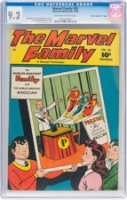 "Marvel Family #30 CGC 9.2 ow/w Davis Crippen (""D"" Copy)"