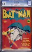 Batman #6 CGC 6.5 cr/ow