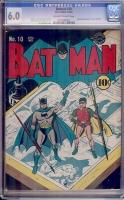 Batman #10 CGC 6.0 ow/w