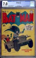 Batman #12 CGC 7.0 ow/w