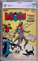 Batman #40 CBCS 5.5 ow/w