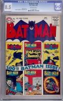 Batman #100 CGC 8.5 ow
