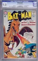 Batman #155 CGC 9.0 cr/ow