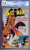 Batman #155 CGC 7.5 ow/w