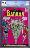 Batman #171 CGC 9.0 ow Double Cover