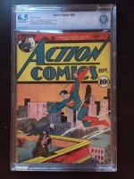 Action Comics #28 CBCS 6.5 ow/w