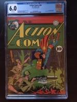 Action Comics #60 CGC 6.0 w