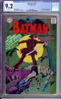 Batman #189 CGC 9.2 w