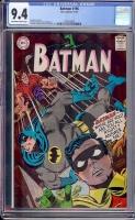 Batman #196 CGC 9.4 ow/w