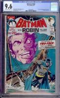 Batman #234 CGC 9.6 ow/w