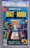 Batman #291 CGC 9.8 w