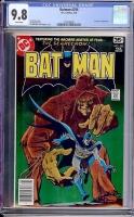 Batman #296 CGC 9.8 w