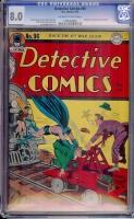 Detective Comics #96 CGC 8.0 ow/w