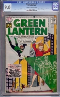 Green Lantern #7 CGC 9.0 cr/ow
