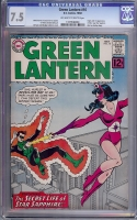 Green Lantern #16 CGC 7.5 ow/w