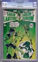 Green Lantern #76 CGC 9.0 ow/w