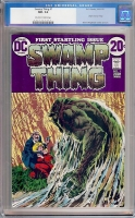 Swamp Thing #1 CGC 9.2 ow/w