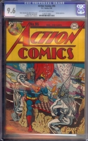 Action Comics #96 CGC 9.6 ow/w