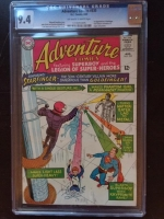 Adventure Comics #335 CGC 9.4 ow/w