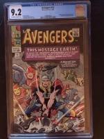 Avengers #12 CGC 9.2 ow/w