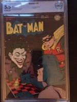 Batman #23 CBCS 5.5 ow/w