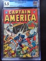 Captain America Comics #26 CGC 5.5 cr/ow