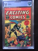 Exciting Comics #47 CBCS 5.0 ow/w