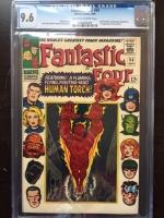Fantastic Four #54 CGC 9.6 ow/w