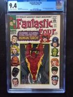 Fantastic Four #54 CGC 9.4 ow/w