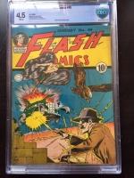 Flash Comics #49 CBCS 4.5 w
