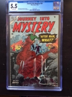 Journey Into Mystery #20 CGC 5.5 ow