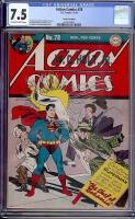 Action Comics #78 CGC 7.5 ow/w Cosmic Aeroplane