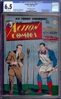 "Action Comics #127 CGC 6.5 ow Davis Crippen (""D"" Copy)"