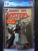Journey Into Mystery #34 CGC 7.5 cr/ow