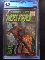 Journey Into Mystery #35 CGC 4.5 cr/ow