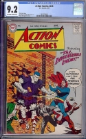 Action Comics #226 CGC 9.2 ow/w