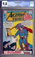 Action Comics #333 CGC 9.8 w Twin Cities