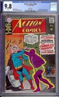 Action Comics #340 CGC 9.8 w Twin Cities
