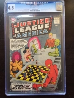 Justice League of America #1 CGC 4.5 ow/w