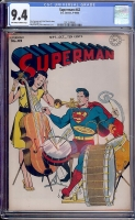 Superman #42 CGC 9.4 ow/w