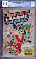 Justice League of America #5 CGC 9.2 w Circle 8