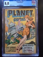 Planet Comics #57 CGC 8.0 ow