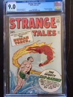 Strange Tales #107 CGC 9.0 ow/w