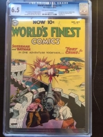World's Finest Comics #72 CGC 6.5 ow/w