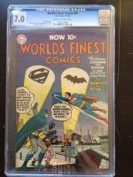 World's Finest Comics #74 CGC 7.0 cr/ow