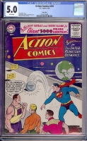 Action Comics #220 CGC 5.0 w Twin Cities