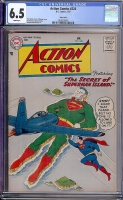 Action Comics #224 CGC 6.5 w Twin Cities